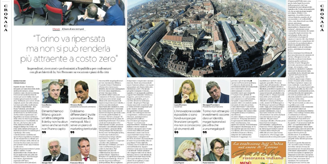 Tavola rotonda IN/Arch Piemonte/Repubblica Torino