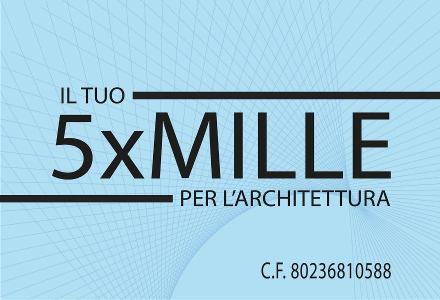 il 5×1000 per l'architettura